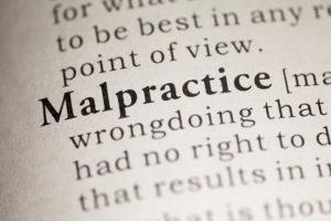 malpractice dictionary